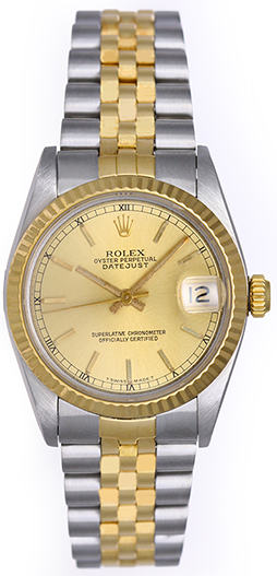 "Image of ""Rolex Datejust 68273 Stainless Steel with 18K Yellow Gold 31mm Unisex"""