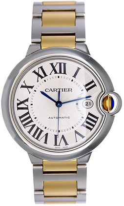 Cartier Ballon Bleu W69009Z3 Stainless Steel & 18K Yellow Gold