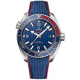 Omega Planet Ocean 600m Co-Axial Master Chronometer Olympic Collection PyeongChang 2018 Limited Edition 522.32.44.21.03.001 Stainless Steel 43.5mm Automatic Mens Watch