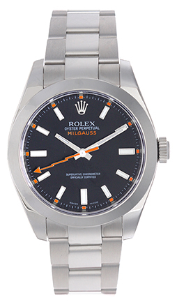 """Image of """"Rolex Milgauss 116400 Stainless Steel Automatic 40mm Mens Watch"""""""