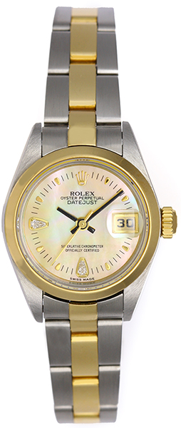 """Image of """"Rolex Datejust 79163 Stainless Steel / 18K Yellow Gold 26mm Womens"""""""