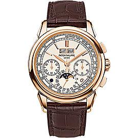 Patek Philippe Grand Complications 5270R-001 18K Rose Gold Manual Mens 41mm Watch