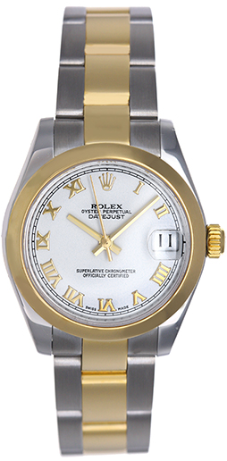 """Image of """"Rolex Datejust 178243 2-Tone Stainless Steel and 18K Yellow Gold White"""""""