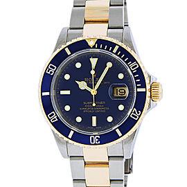 Rolex Submariner 16613 Stainless Steel & 18K Yellow Gold 40mm Mens Watch
