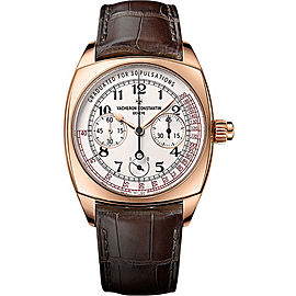Vacheron Constantin Harmony 5300S/000R-B124 18K Rose Gold with Silver Dial 42mm Mens Watch