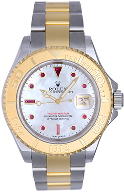"Image of ""Rolex Yacht-Master 16623 Stainless Steel & Yellow Gold 40mm Mens Watch"""