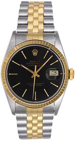 """Image of """"Rolex Datejust 16013 Stainless Steel And 18K Yellow Gold Automatic"""""""