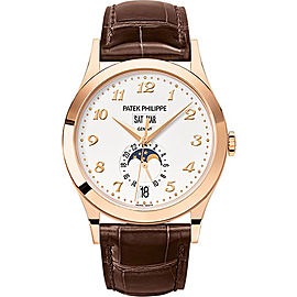 Patek Philippe 5396R-012 18K Rose Gold / Leather Automatic 38.5mm Mens Watch