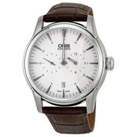 Oris Artelier Regulateur 74976674051 Stainless Steel & Leather 40.5mm Watch
