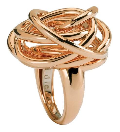 "Image of ""de Grisogono 18K Yellow Gold Contemporary Classic Matassa Ring Size 7"""