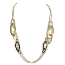 Roberto Coin 18K Yellow Gold Chic and Shine Necklace