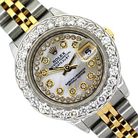 Rolex DateJust Yellow Gold & Stainless Steel Watch 26mm
