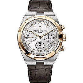 Vacheron Constantin Overseas 5500V/000M-B074 Stainless Steel with Silver Dial Automatic 42.50mm Mens Watch