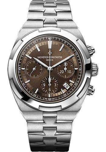 "Image of ""Vacheron Constantin Overseas Stainless Steel with Brown Dial 42.5mm"""