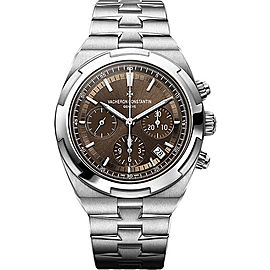 Vacheron Constantin Overseas Stainless Steel with Brown Dial 42.5mm Mens Watch