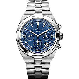 Vacheron Constantin Overseas 5500V/110A-B148 Stainless Steel Automatic with Blue Dial 42.50mm Mens Watch