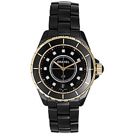 Chanel J12 H2544 Black Ceramic Quartz 38mm Unisex Watch