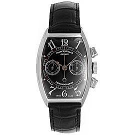 Franck Muller Chronograph 5850 18K White Gold 32mm Mens Watch
