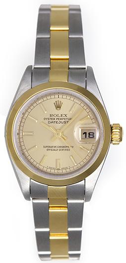 "Image of ""Rolex Datejust 79163 Steel & Gold 26mm Womens Watch"""