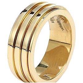 Piaget 18K Yellow Gold Ring Size 7.75