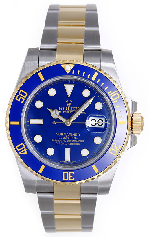 "Image of ""Rolex Submariner 116613 2-Tone Stainless Steel and 18K Yellow Gold"""