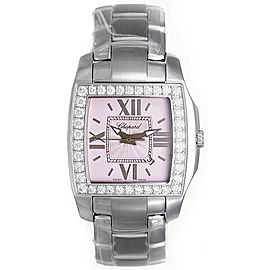 Chopard Two-O-Ten 138464-2007 Stainless Steel & White Gold Diamond 34mm Unisex Watch