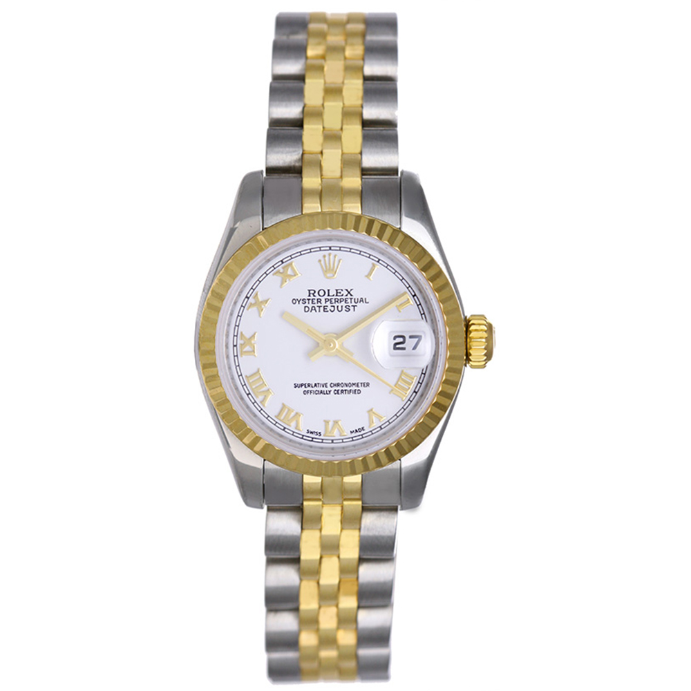 "Image of ""Rolex Datejust 179173 Stainless Steel & Yellow Gold 26mm Womens Watch"""