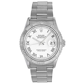 Rolex Turnograph 16264 Stainless Steel with Thunderbird Bezel 36mm Mens Watch
