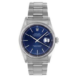 Rolex Datejust 16200 Stainless Steel Automatic Winding 36mm Mens Watch