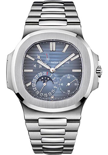 "Image of ""Patek Philippe 5712/1A-001 Stainless Steel with Blue Dial 40mm Mens"""