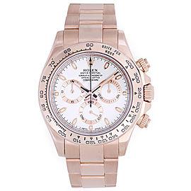 Rolex Cosmograph Daytona 116505 18K Rose Gold Automatic 40mm Men's Watch