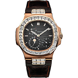 Patek Philippe 5724R 18K Rose Gold Automatic 40mm Mens Watch