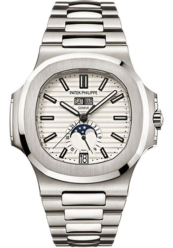"Image of ""Patek Philippe 5726/1A-010 Stainless Steel with Silver Dial 40.5mm"""
