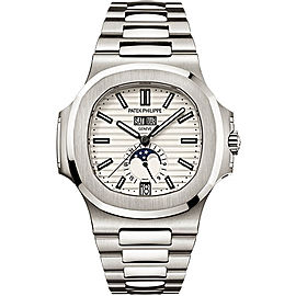 Patek Philippe 5726/1A-010 Stainless Steel with Silver Dial 40.5mm Mens Watch