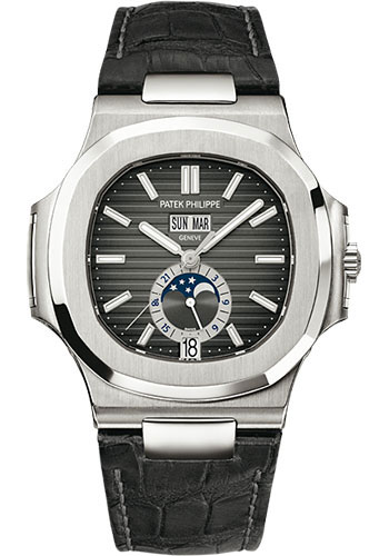 "Image of ""Patek Philippe 5726A-001 Stainless Steel with Black Dial 40.5mm Mens"""