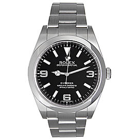 Rolex Explorer 214270 Stainless Steel 39mm Mens Watch