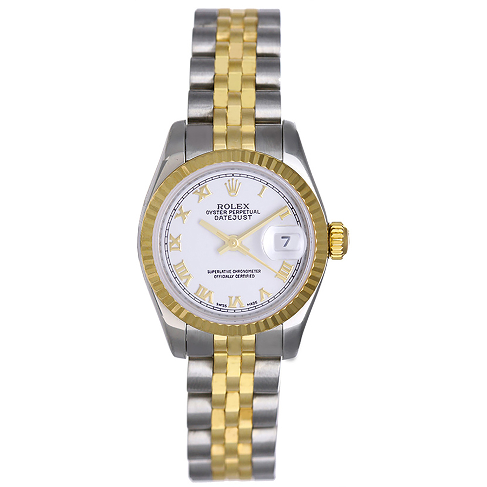 """Image of """"Rolex Datejust 179173 2-Tone Stainless Steel and 18K Yellow Gold Roman"""""""