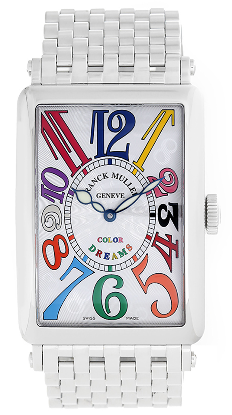 "Image of ""Franck Muller Color of Dreams 952Qz Stainless Steel 36mm Unisex Watch"""