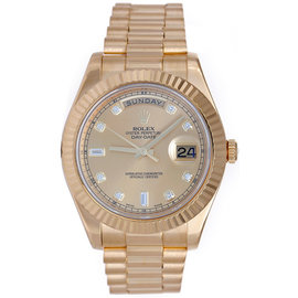 Rolex Day-Date II 218238 18K Yellow Gold Automatic 41mm Men's Watch