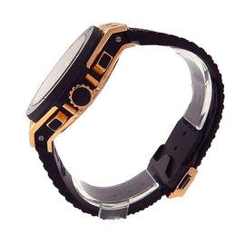 Hublot Big Bang 301.PB.131.RX 18K Rose Gold/Titanium & Black Rubber Black Dial Automatic 44mm Men's Watch