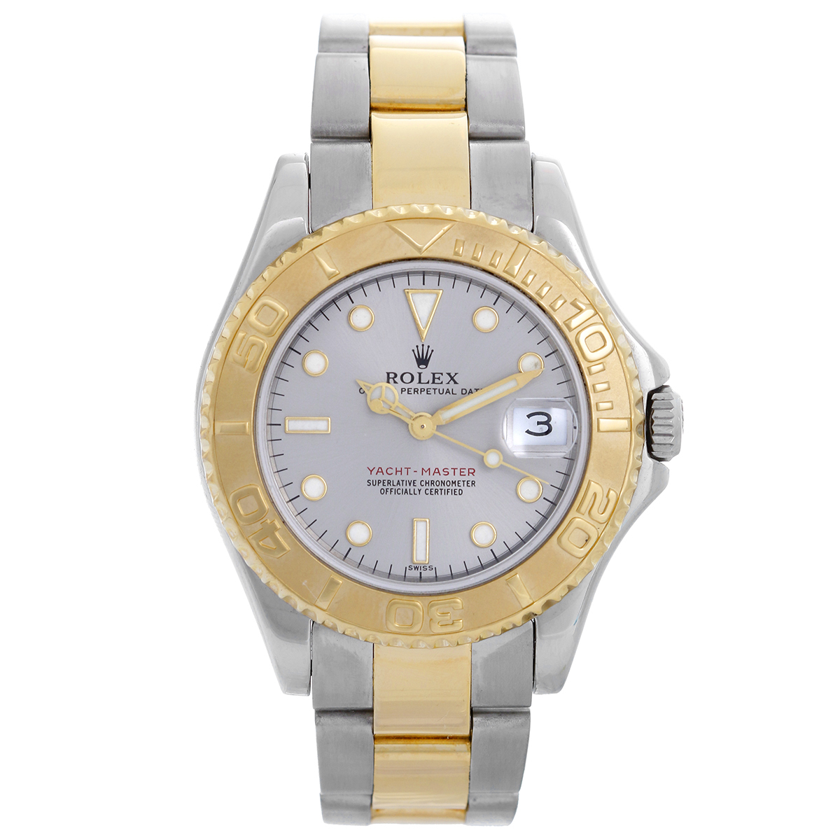 "Image of ""Rolex Yacht-Master 68623 Stainless Steel & 18K Yellow Gold Automatic"""