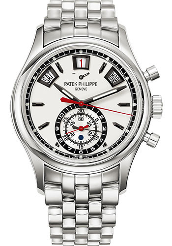 "Image of ""Patek Philippe 5960-1A Stainless Steel with Silver Dial 40.5mm Mens"""