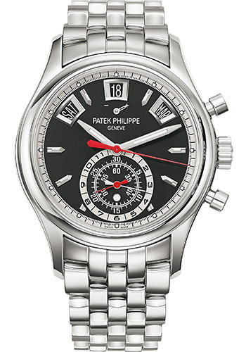 "Image of ""Patek Philippe 5960-1A Stainless Steel with Black Dial 40.5mm Mens"""