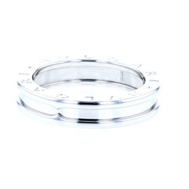 Bulgari 18K White Gold B-Zero1 Ring Size 5