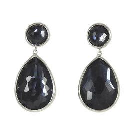 Ippolita 925 Sterling Silver Wonderland Indigo Earrings