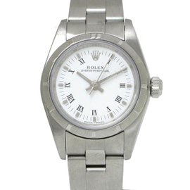 Rolex Oyster Perpetual 76030 Stainless Steel Automatic 25mm Womens Watch