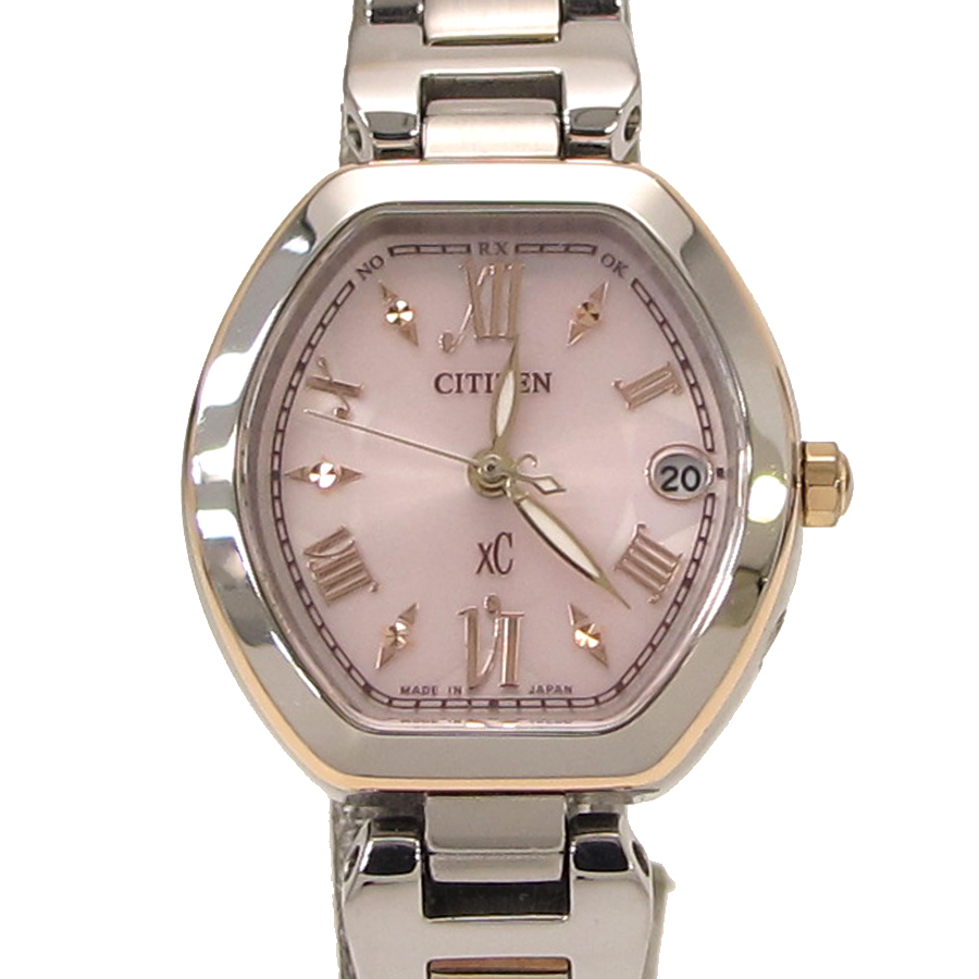 "Image of ""Citizen Es8054-50 W Stainless Steel 25mm Watch"""