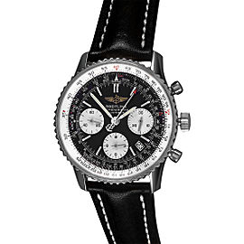 Brietling Navitimer A23322 Stainless Steel 42mm Mens Watch