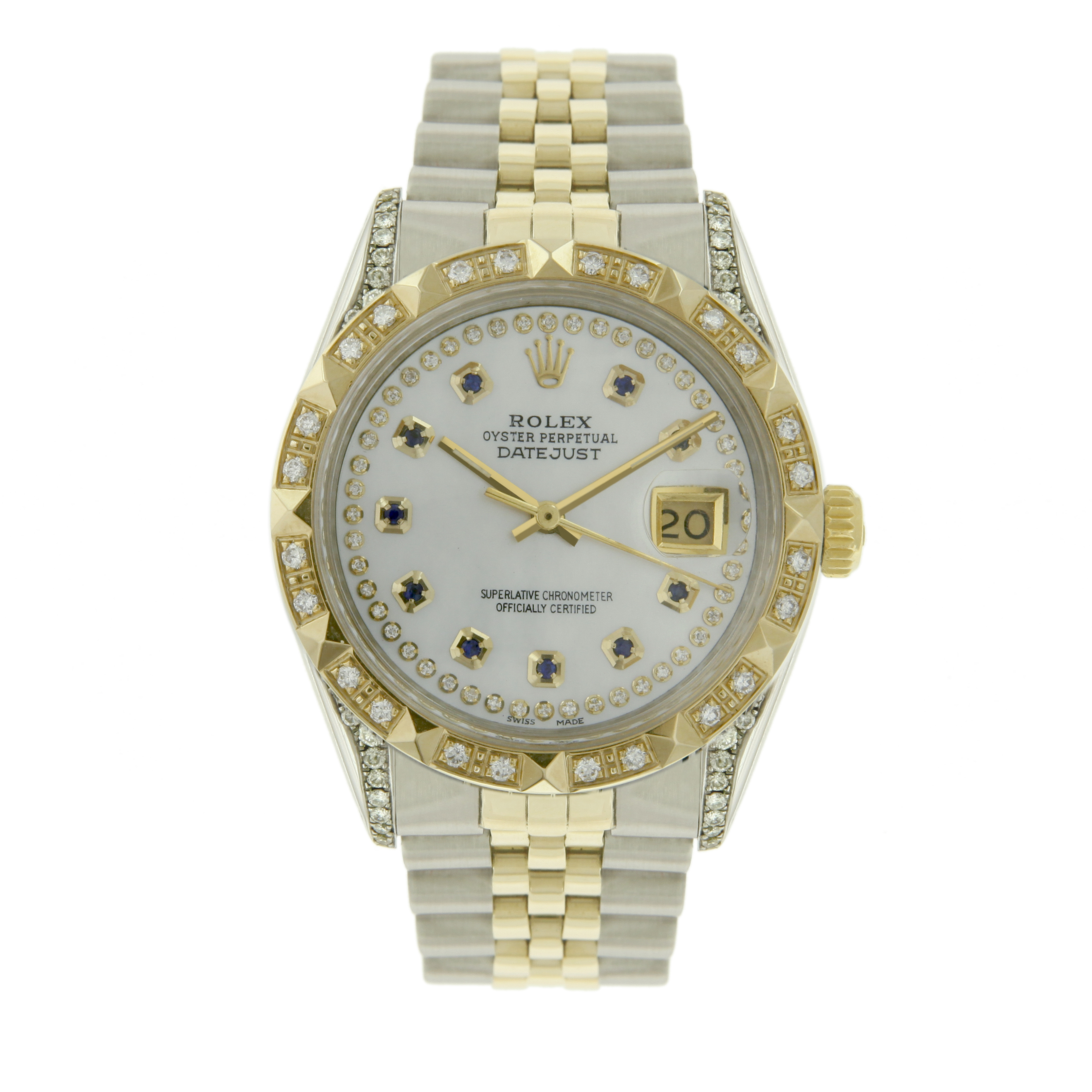 "Image of ""Rolex Datejust 16013 18K Yellow Gold / Stainless Steel Vintage 36mm"""