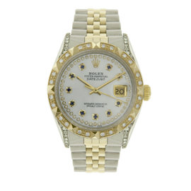 Rolex Datejust 16013 18K Yellow Gold / Stainless Steel Vintage 36mm Mens Watch